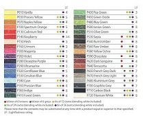 Pastels Color Chart