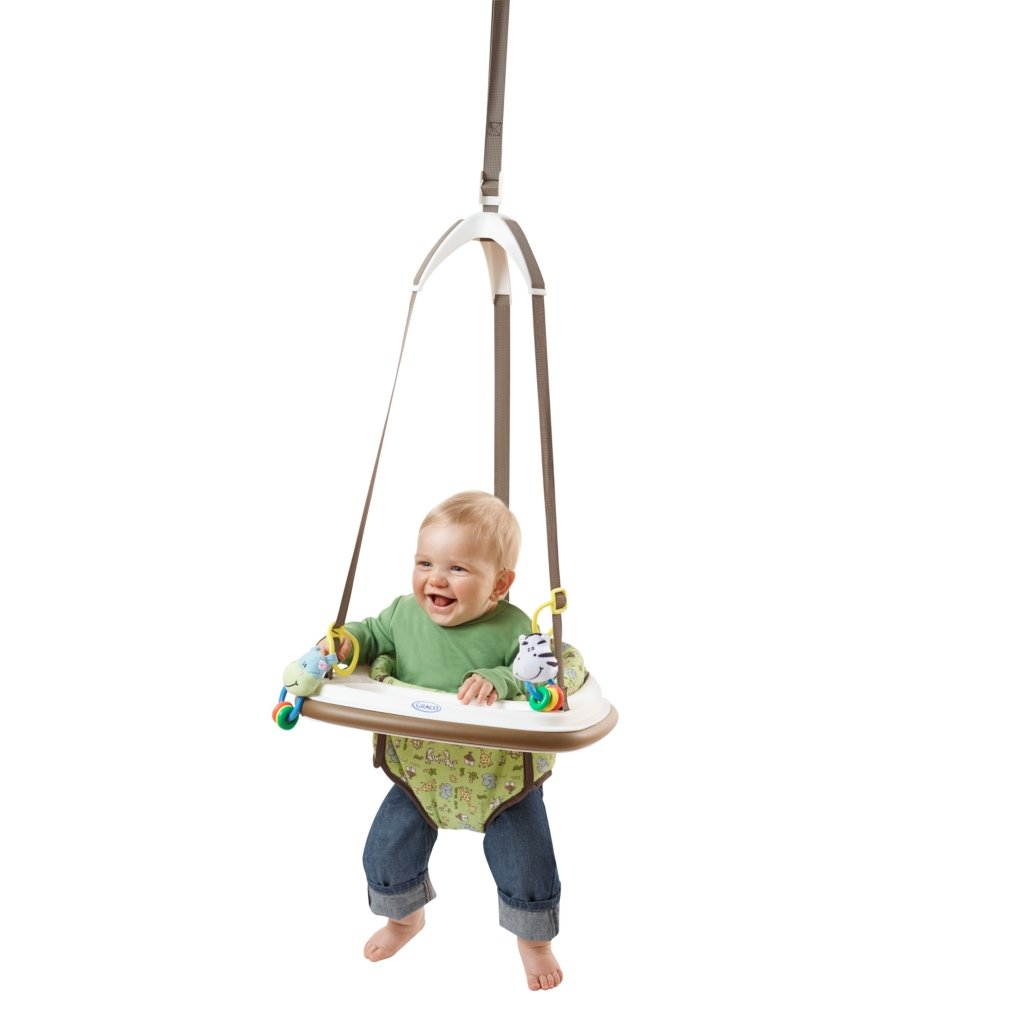 Amazon.com : Graco Doorway Bumper Jumper, Little Jungle : Baby ...