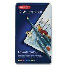 Watercolor Pencils, 12.Ct., Metal Tin