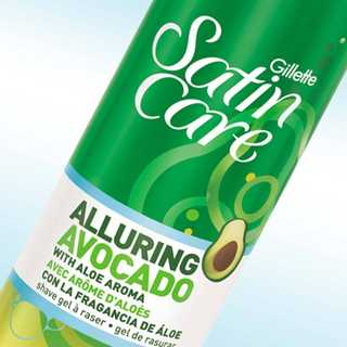 Satin Care Alluring Avocado Shave Gel