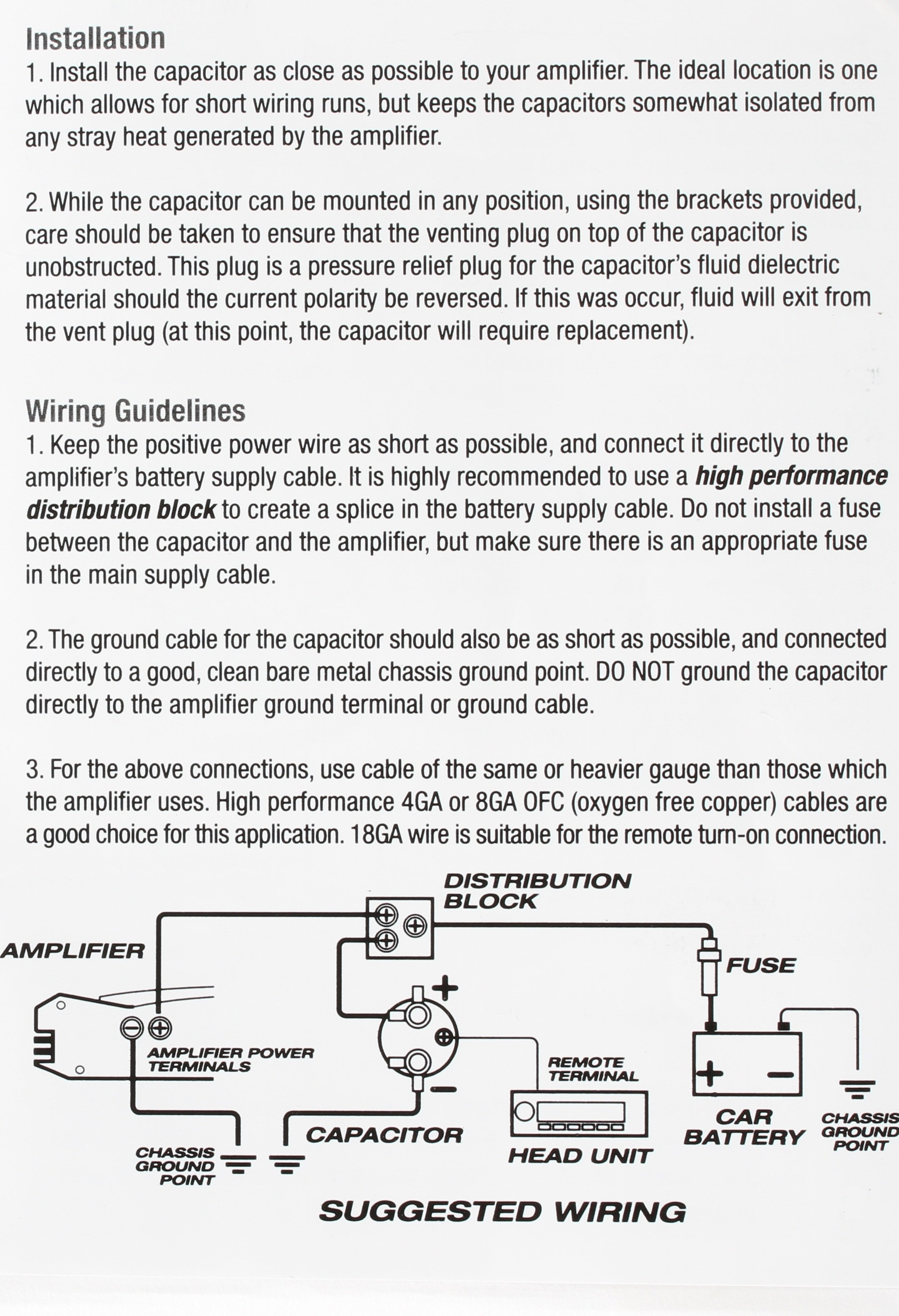 How To Install Car Audio Capacitors Manual Guide