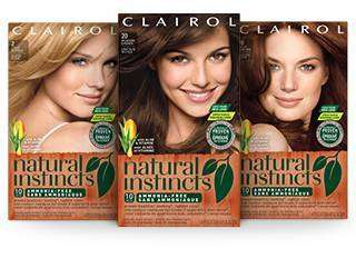 Amazon.com : Clairol Natural Instincts, 3.5 / 35 Ebony Mocha Brown ...