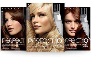 clairol nice n easy perfect 10 - Clairol Nice And Easy Colors