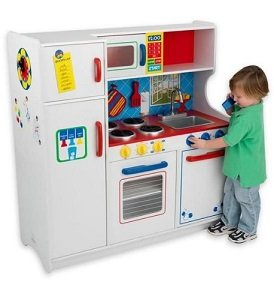 This adorable kitchen is one gift all the young chefs in your life are sure to enjoy.