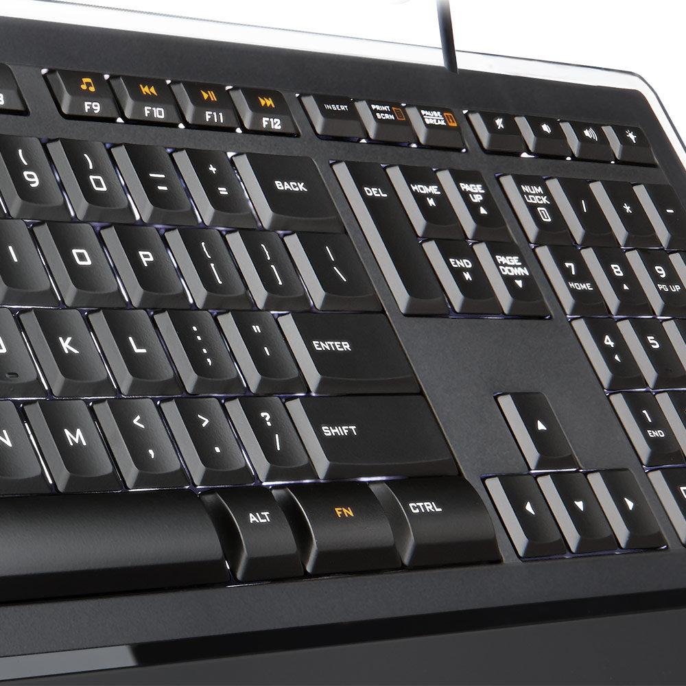 Amazon Com Logitech Illuminated Ultrathin Keyboard K740