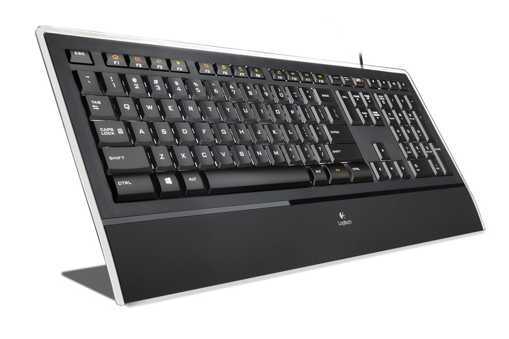 Amazon.com: Logitech Illuminated Thin Keyboard K740: Electronics