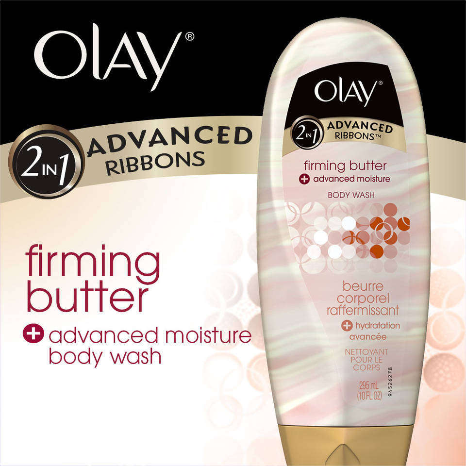 Olay 2-in-1 Advanced Ribbons Firming Butter + Advanced Moisture Body