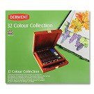 Colored pencil collection, 32-Ct., Wooden Box