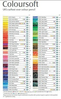Colorsoft Color Chart