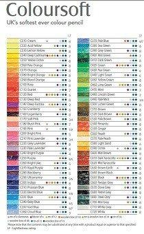 Colorsoft Color Chart