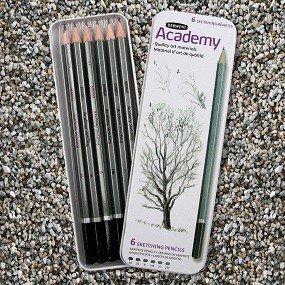 6-Ct. Sketching Pencils
