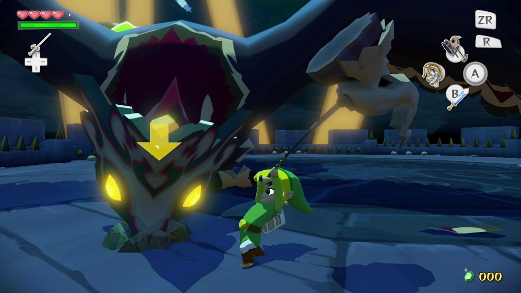 Image result for wind waker hd bosses