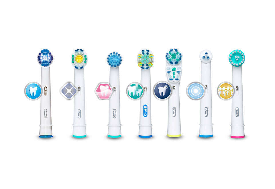 Amazon.com: Oral-B Ortho Electric Toothbrush Replacement Brush Heads