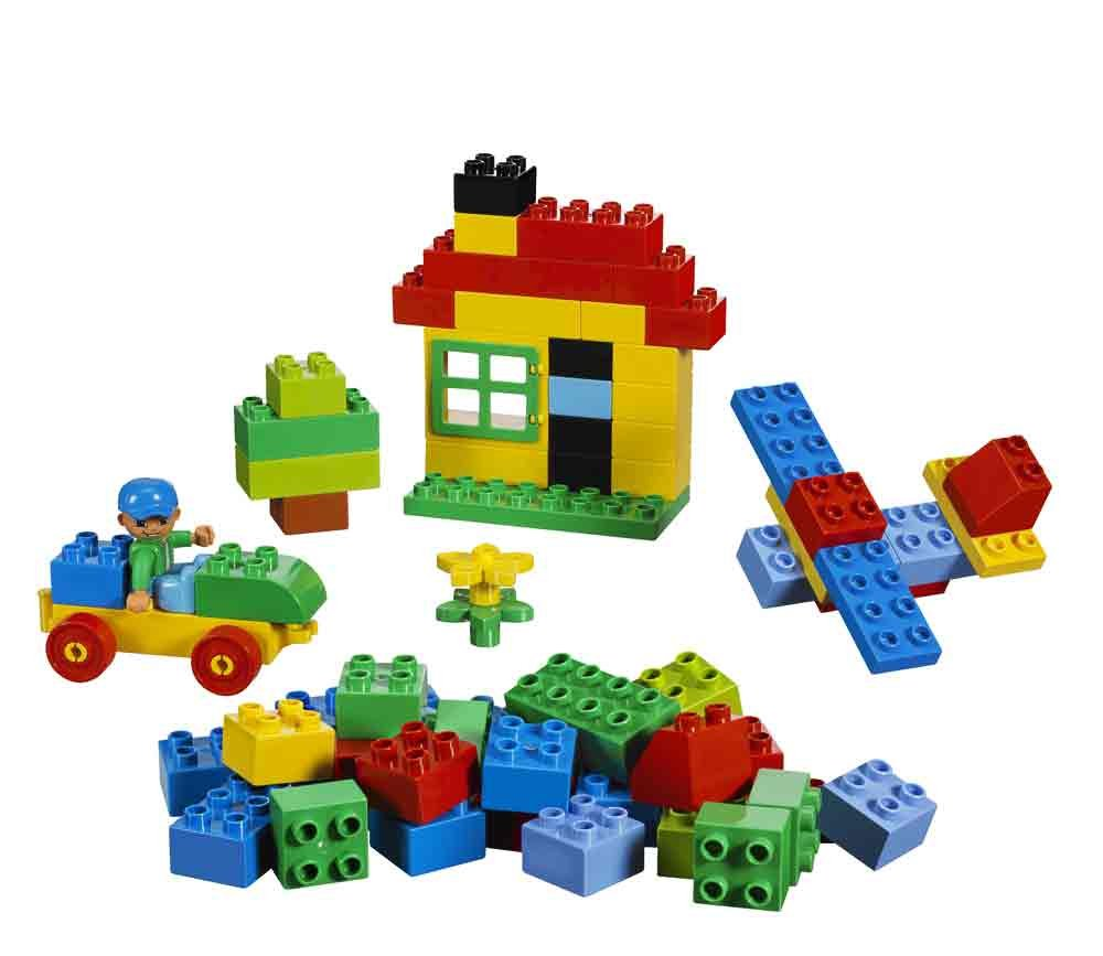 Lego duplo building set 71 pieces 5506 toys for Modele maison lego duplo