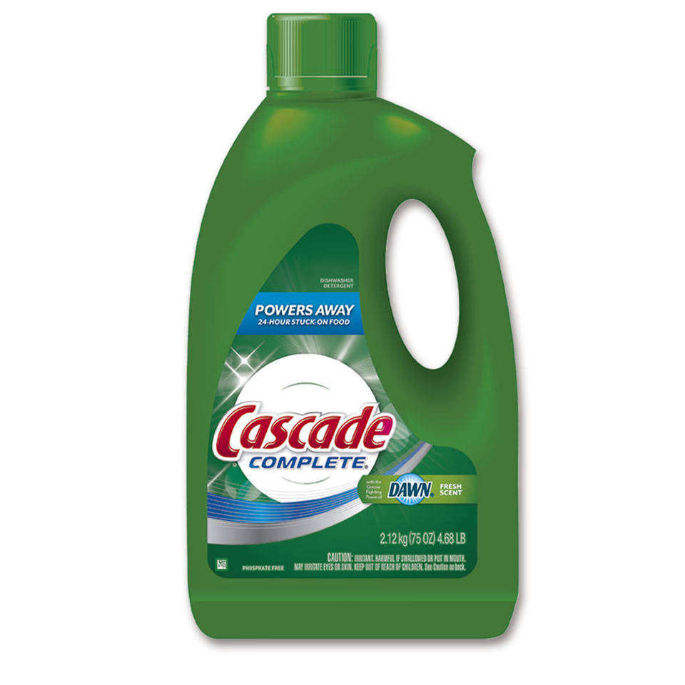 Cascade Gel Dishwasher Detergent Fresh Scent