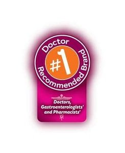 #1 Recommended brand by doctors and pharmacists