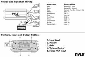 amazon com pyle hydra marine amplifier upgraded elite series 400 pyle amp wiring diagram plmrmp3a wiring and controls diagram