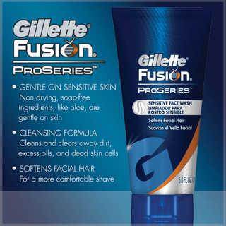 Gillette Fusion ProSeries Sensitive Face Wash