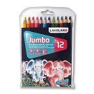 Jumbo Coloring Pencils, 12-Ct.