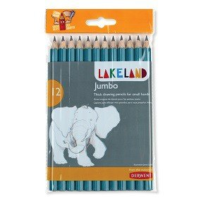Jumbo Graphite Pencils, 12-Ct.