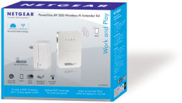 Powerline AV 200 Wireless-N Extender Kit
