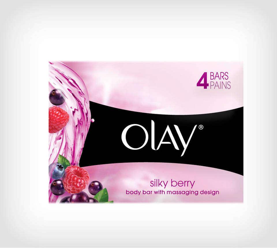 Amazon Com Olay Bath 4 Bar Silk Whimsy 4 Count 4 25 Oz