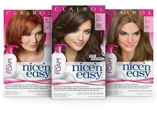 tones highlights in a foam formula nice n easy color - Clairol Nice And Easy Colors