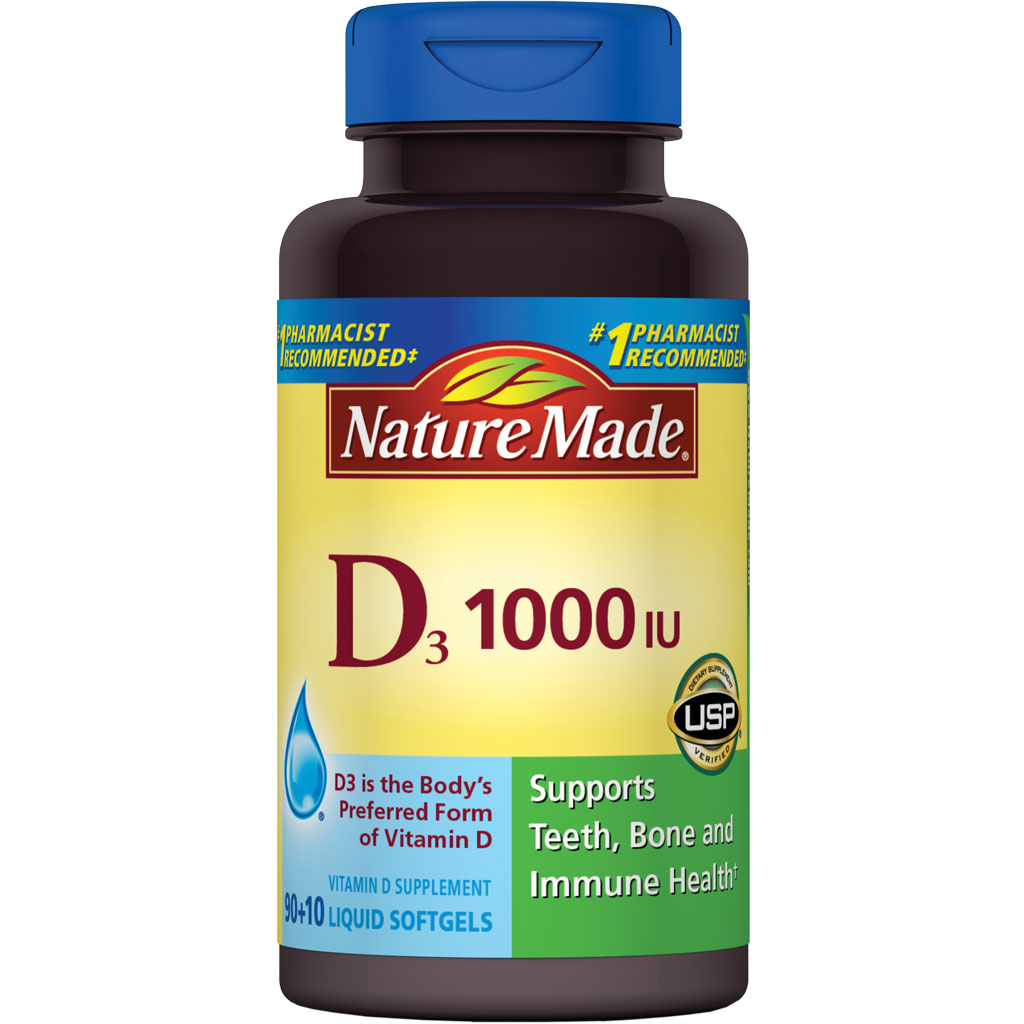 Nature Made Vitamin D  Iu  Softgels