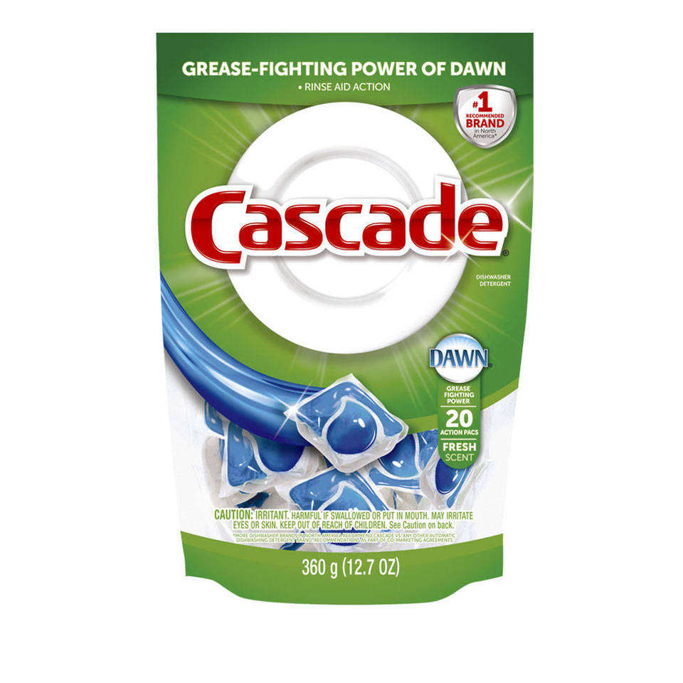 Cascade Fresh Scent Powder Dishwasher