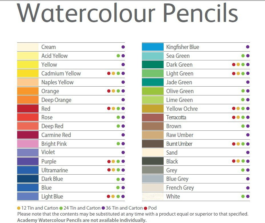 Amazon.com : Derwent Academy Watercolor Pencils, Skintones, Metal ...