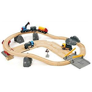 BRIO Rail and Road Loading Set.