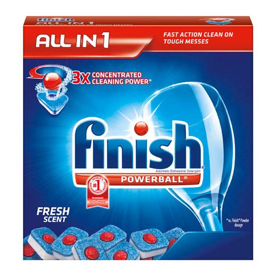 Amazon.com: Finish Powerball Tabs Dishwasher Detergent Tablets, Fresh