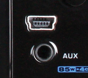 USB and AUX port image