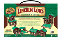 Lincoln Logs Collector's Edition Wooden Case