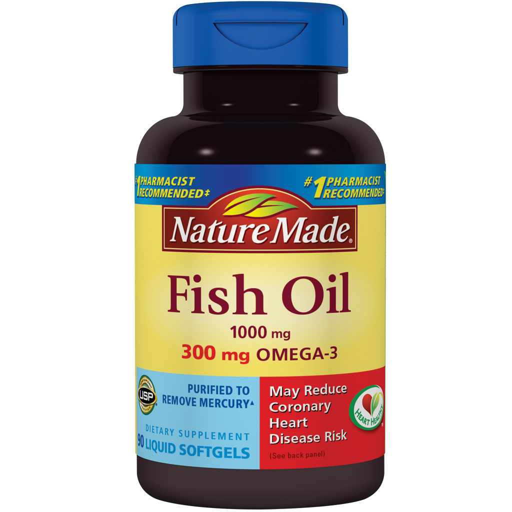 Nature made fish oil 1000 mg 300 mg omega 3 for How is fish oil made