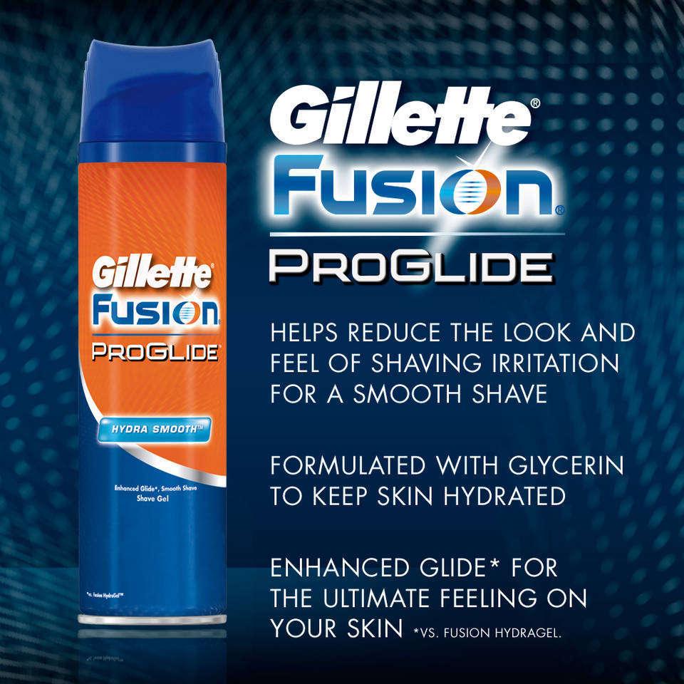 Gillette fusion shaving cream coupons