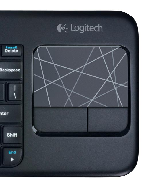 1831c8f8dd5 Logitech Wireless Touch Keyboard K400 with Built-In Multi-Touch ...