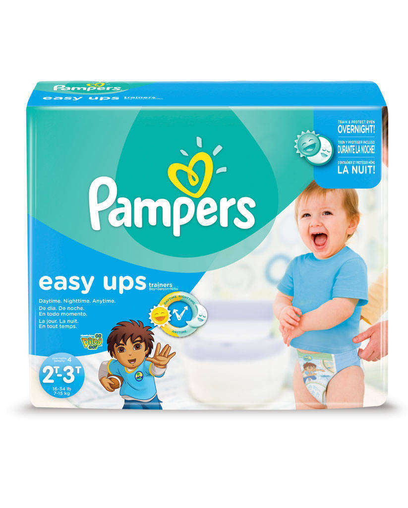 Pampers is an American name brand of baby and toddler products marketed by Procter & Gamble.