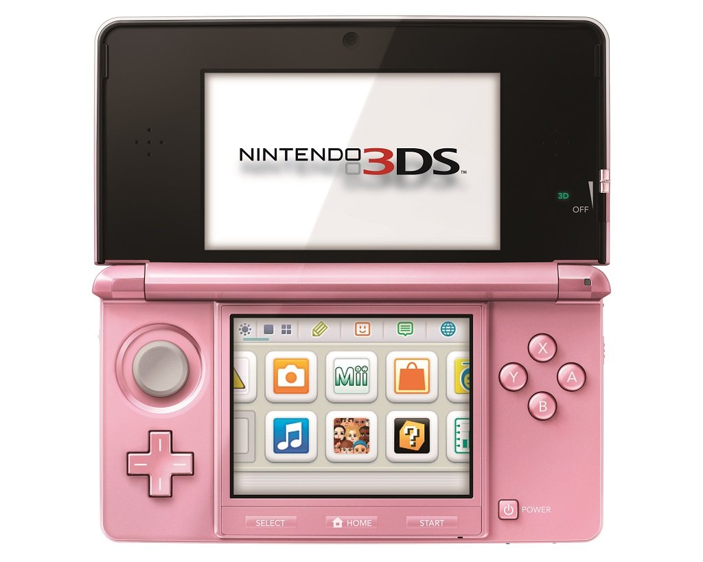 nintendo 3ds pearl pink nintendo 3ds video games. Black Bedroom Furniture Sets. Home Design Ideas