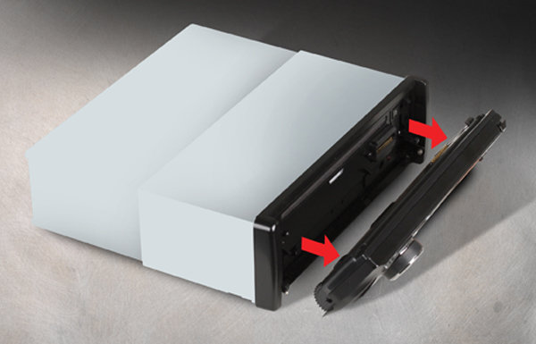 boss audio bv7948b in dash single din 3 6 inch. Black Bedroom Furniture Sets. Home Design Ideas