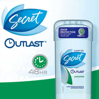 Secret Outlast Clear Gel