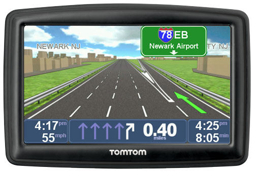 tomtom start 55tm 5 inch gps navigator with lifetime traffic maps and roadside. Black Bedroom Furniture Sets. Home Design Ideas