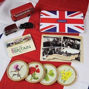 Contents of Best of British Box