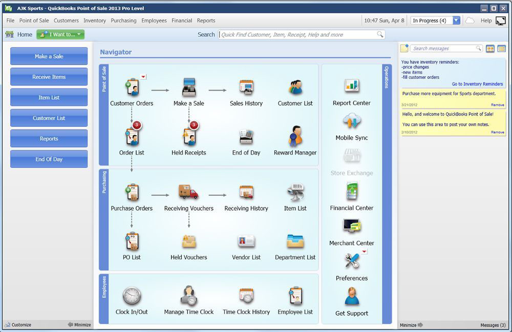 zar pos point of sale web application