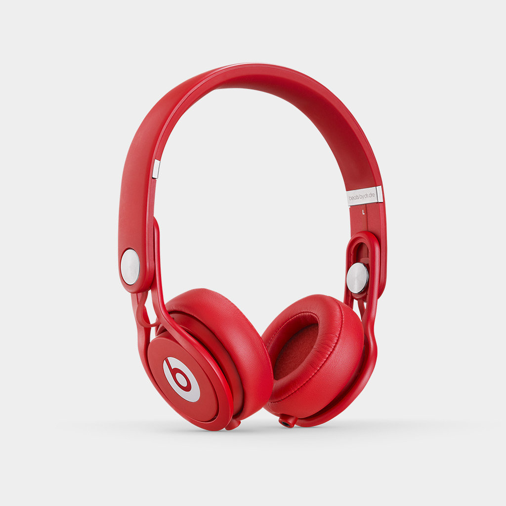 Amazon.com: Beats Mixr On-Ear Headphone - Red: Home Audio