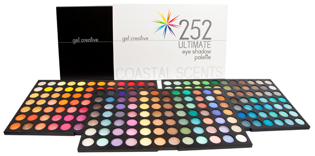 amazoncom coastal scents 252 ultimate eye shadow