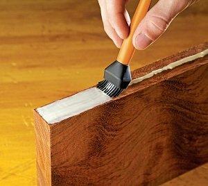 silicone glue brush