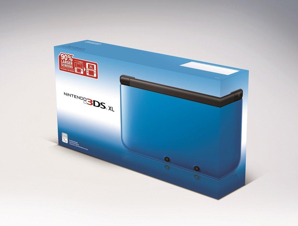 nintendo 3ds xl blue black old model. Black Bedroom Furniture Sets. Home Design Ideas