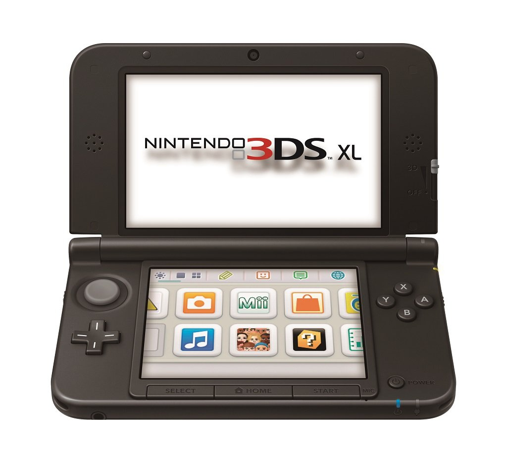 nintendo 3ds xl blue black old model video games. Black Bedroom Furniture Sets. Home Design Ideas