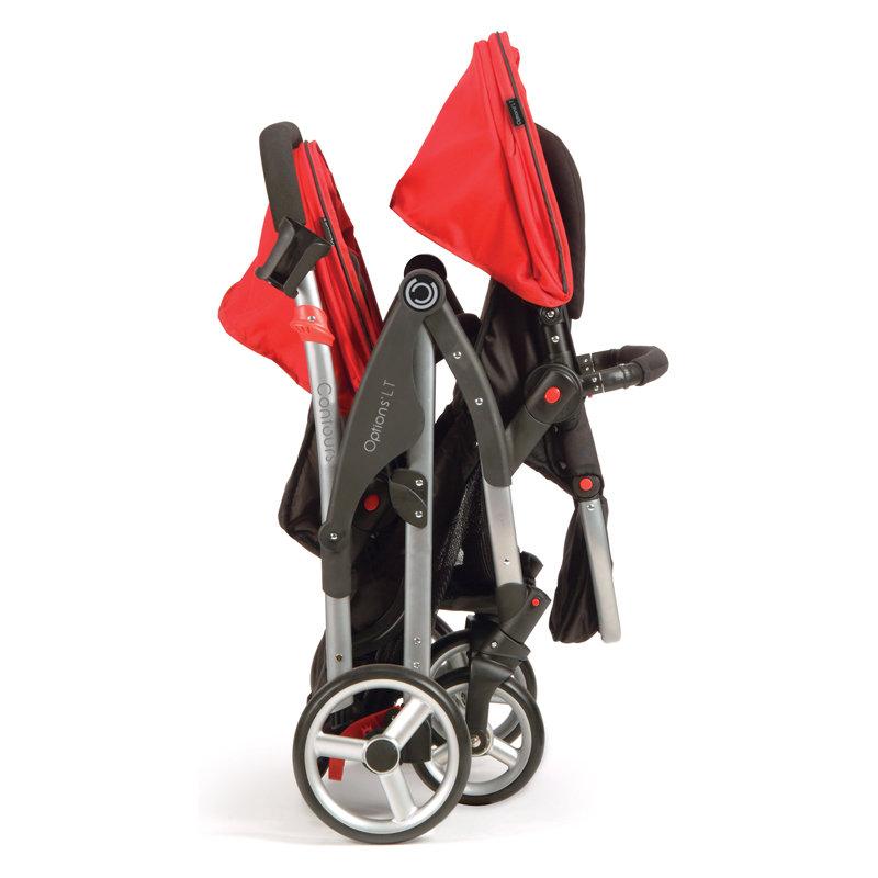Amazon Com Contours Options Lt Tandem Stroller Crimson